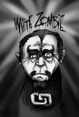 white zombie black and white