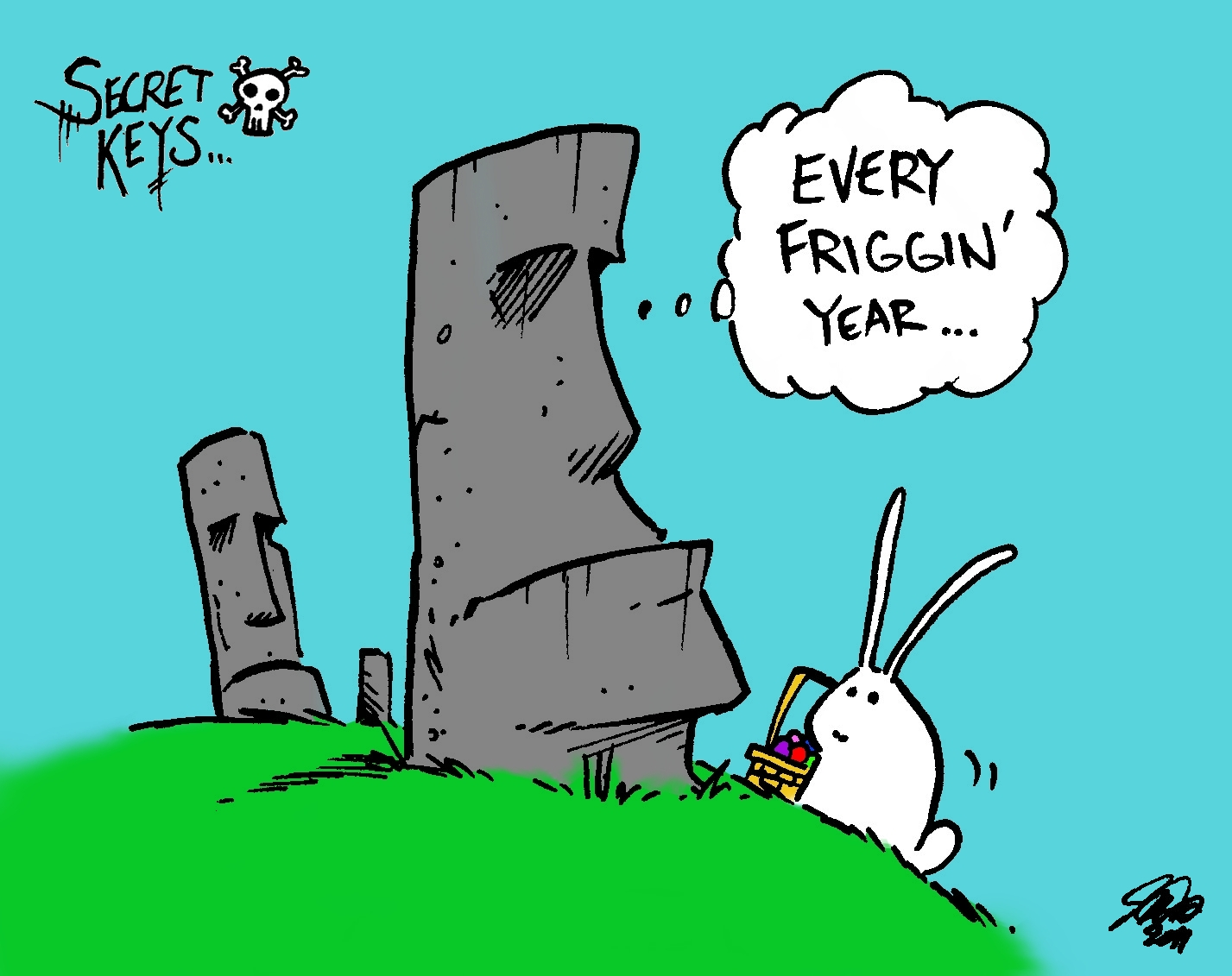 Download image Easter Island Cartoon PC, Android, iPhone and iPad ...