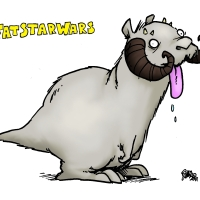 Not So Tawny Tauntaun