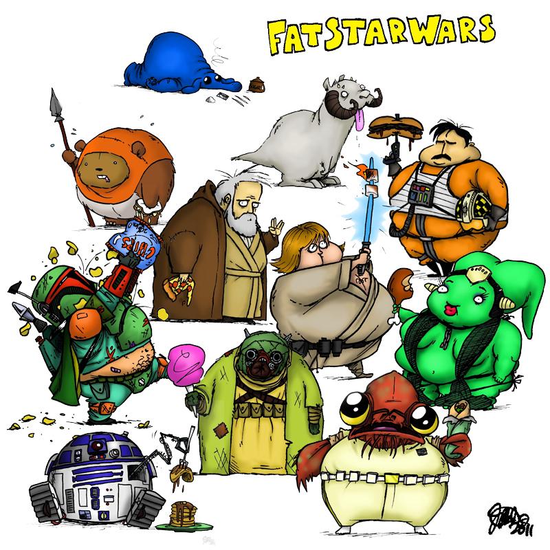 Fat Star Wars