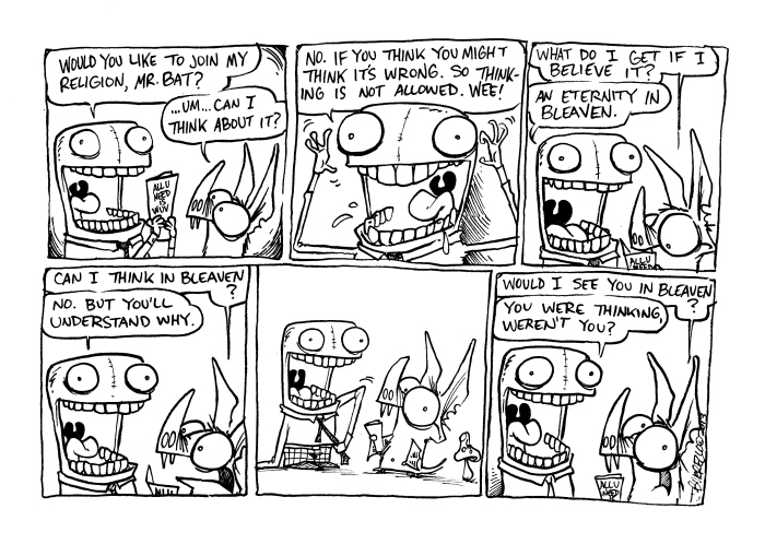 blinky-and-strawman