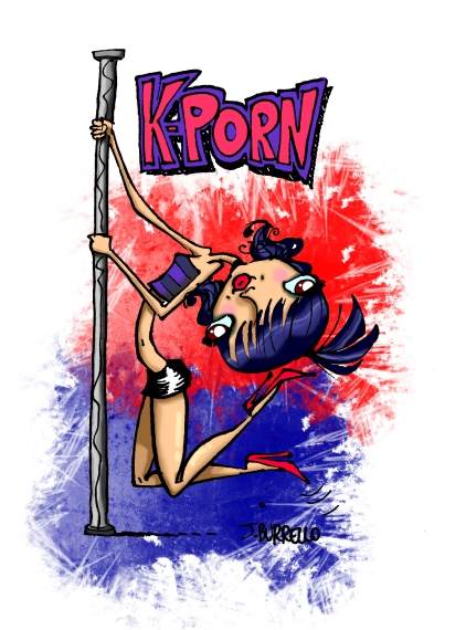 """K-PORN"": For an article in the February 2014 issue of 10 Magazine"