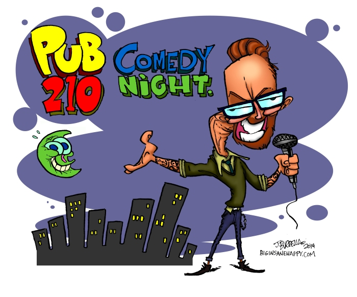 hosted by expat comic Michael Kriss