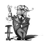 The oblivious magician.