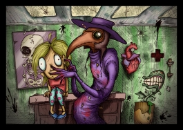 """""""Plague Checkup"""": for the July 2014 issue of 10 Magazine"""